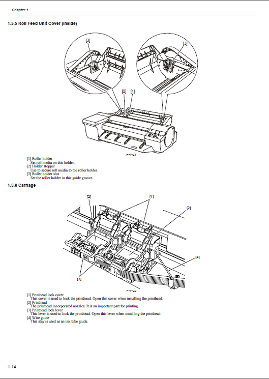 canon imageprograf ipf 6450 ipf6450 service manual