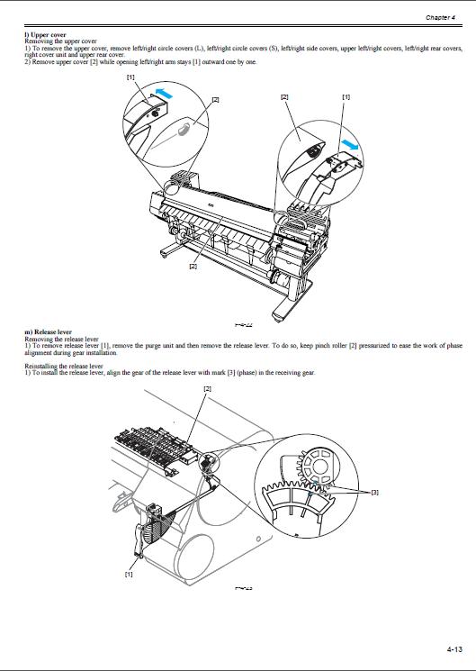 canon imageprograf ipf 8400 ipf8400 service manual