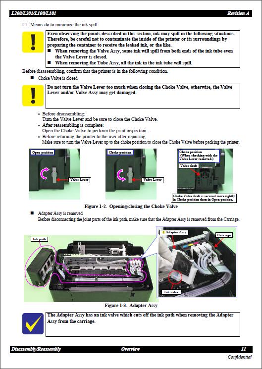 инструкция по эксплуатации epson l200
