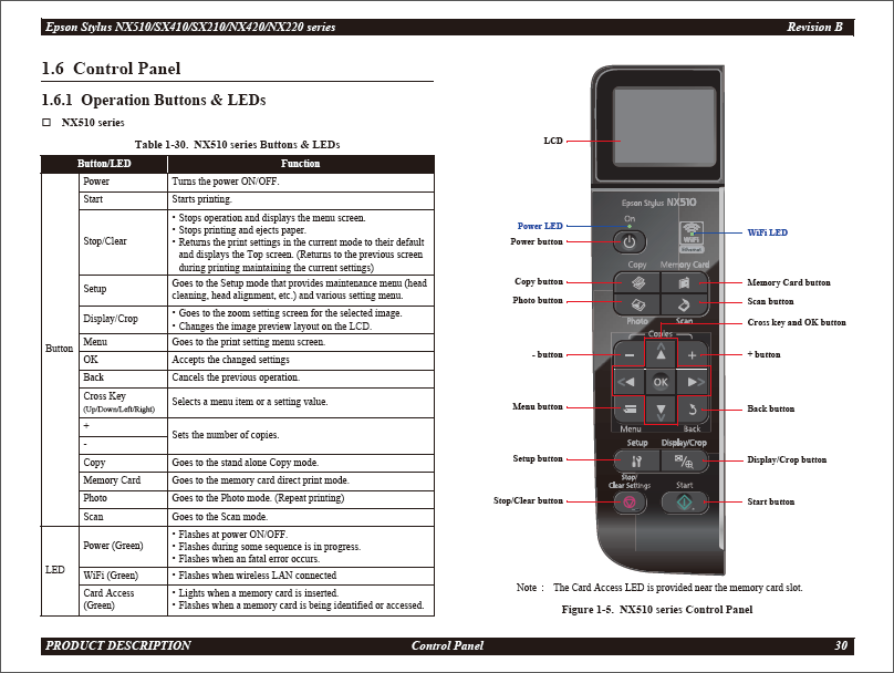 epson stylus nx215 printer manual