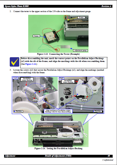 Epson Stylus Photo R3000 Service Manual
