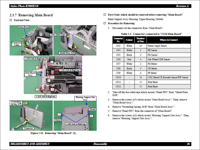 epson r300 service manual daily instruction manual guides u2022 rh testingwordpress co Epson R300 Parts List Inks for Epson R300