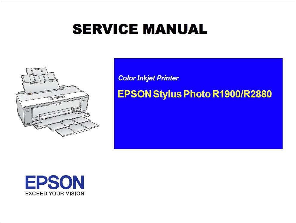epson stylus photo r2880 r1900 service manual epson stylus pro 9700 service manual pdf epson stylus pro 4900 service manual pdf