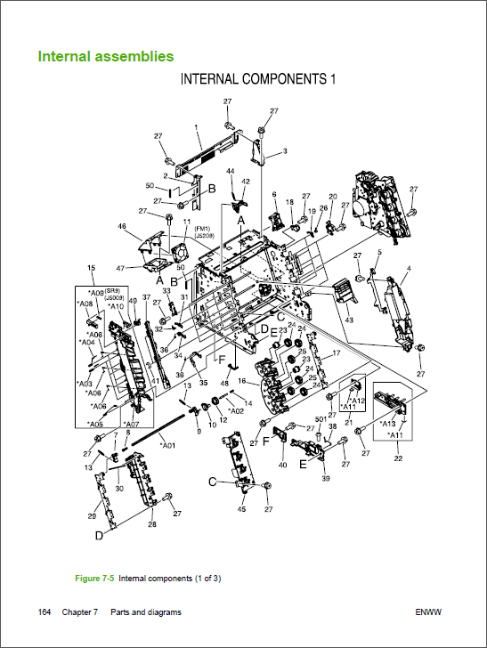 hp color laserjet 1600 service manual