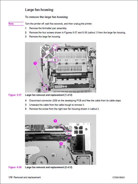 hp color laserjet 4550 4500 service manual repair printer rh qmanual com hp m4555 service manual hp m4555 service manual