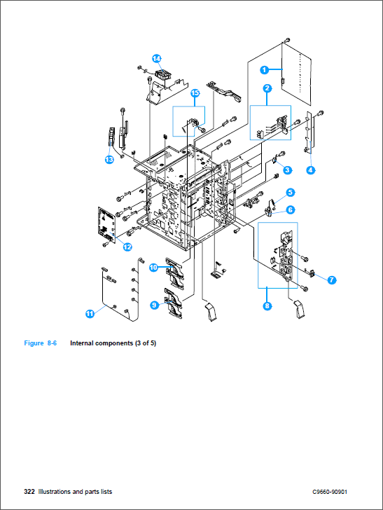 hp color laserjet 4600 service manual