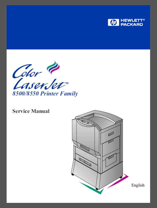 HP Color LaserJet 8500 8550 Service Manual-1
