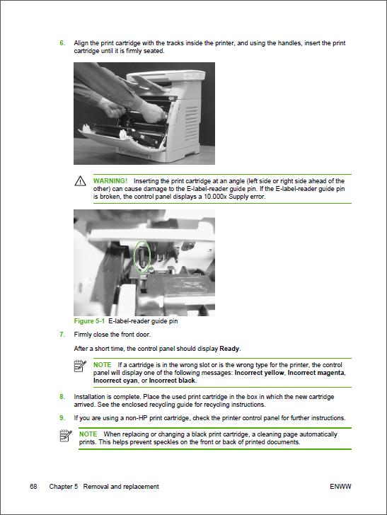 hp 6040 mfp service manual