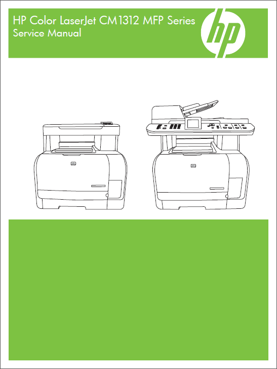 HP Color LaserJet CM1312 MFP Service Manual-1