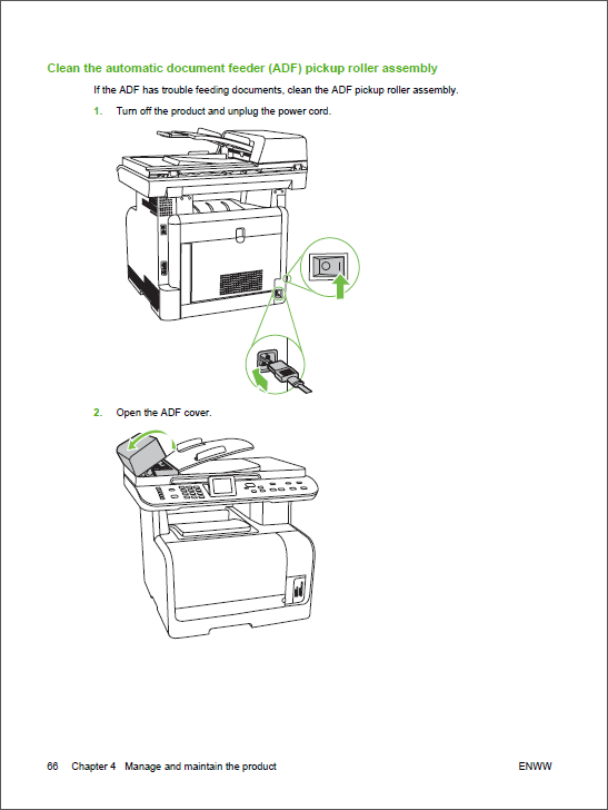 HP Color LaserJet CM1312 MFP Service Manual-2