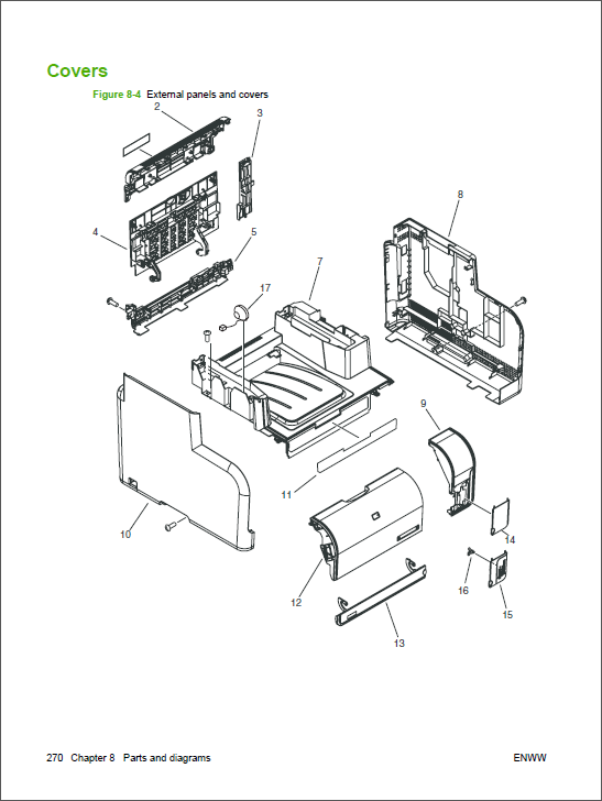HP Color LaserJet CM1312 MFP Service Manual-5