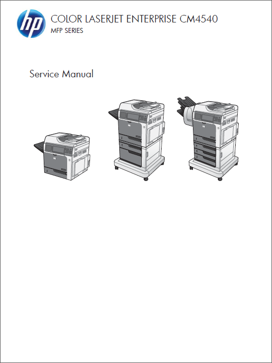 HP Color LaserJet CM4540 MFP Service Manual-1