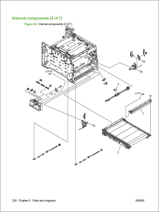 HP Color LaserJet CP2025 CP2020 Service Manual  Repair    Printer