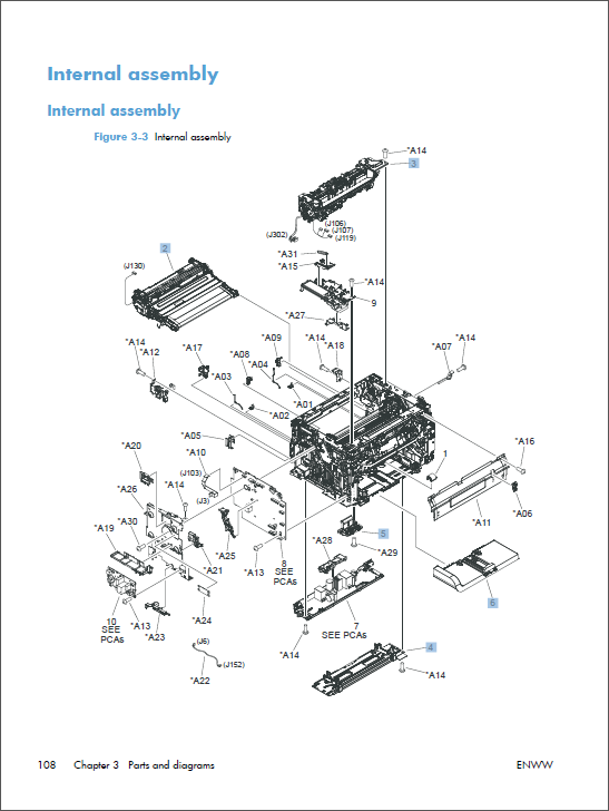 hp color laserjet m175 service manual