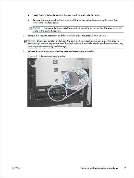 Hp Color Laserjet M251 Service Repair Manual
