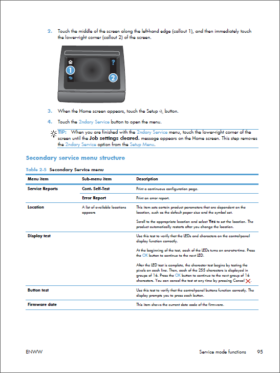 HP Color LaserJet M251 Service Troubleshooting Manual-4