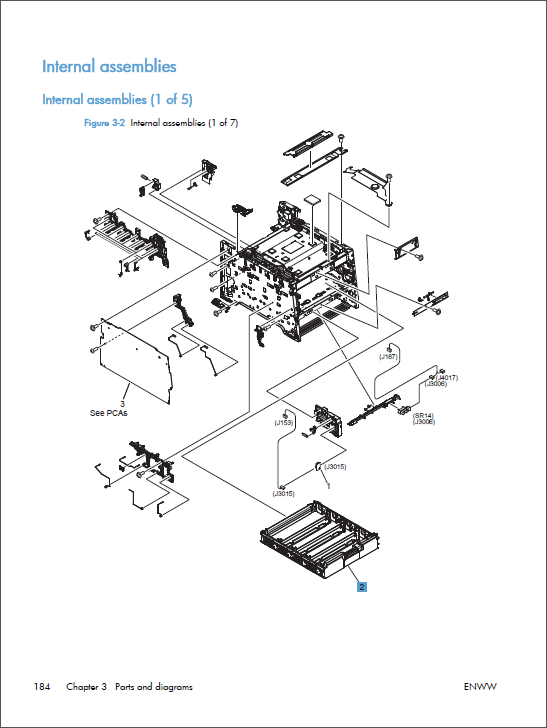 hp color laserjet m351 m451 service manual