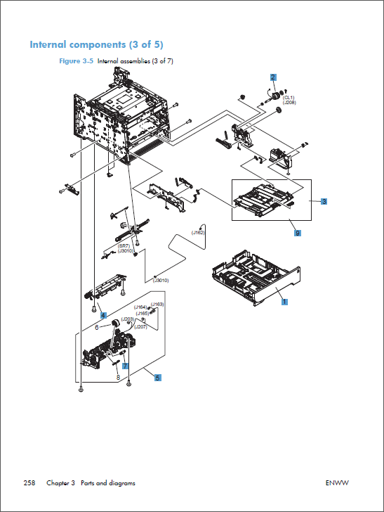 hp color laserjet m375 m475 service manual