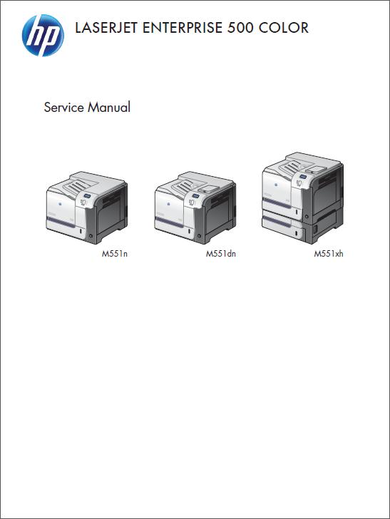 hp color laserjet cp1215 service manual