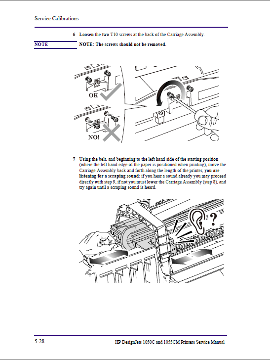 hp designjet 1050c 1055cm service manual