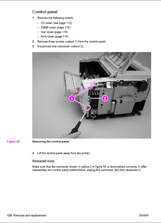 hp laserjet 4 plus and 4m plus printer users manual