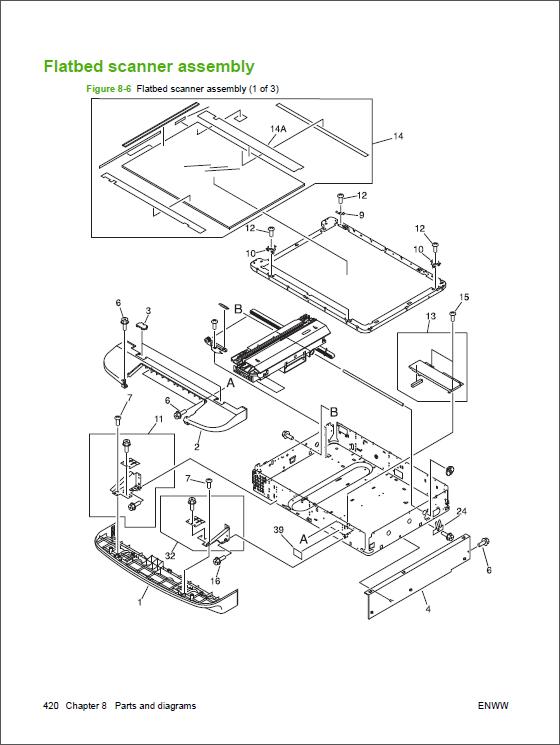 hp laserjet m9040 m9050 mfp service manual