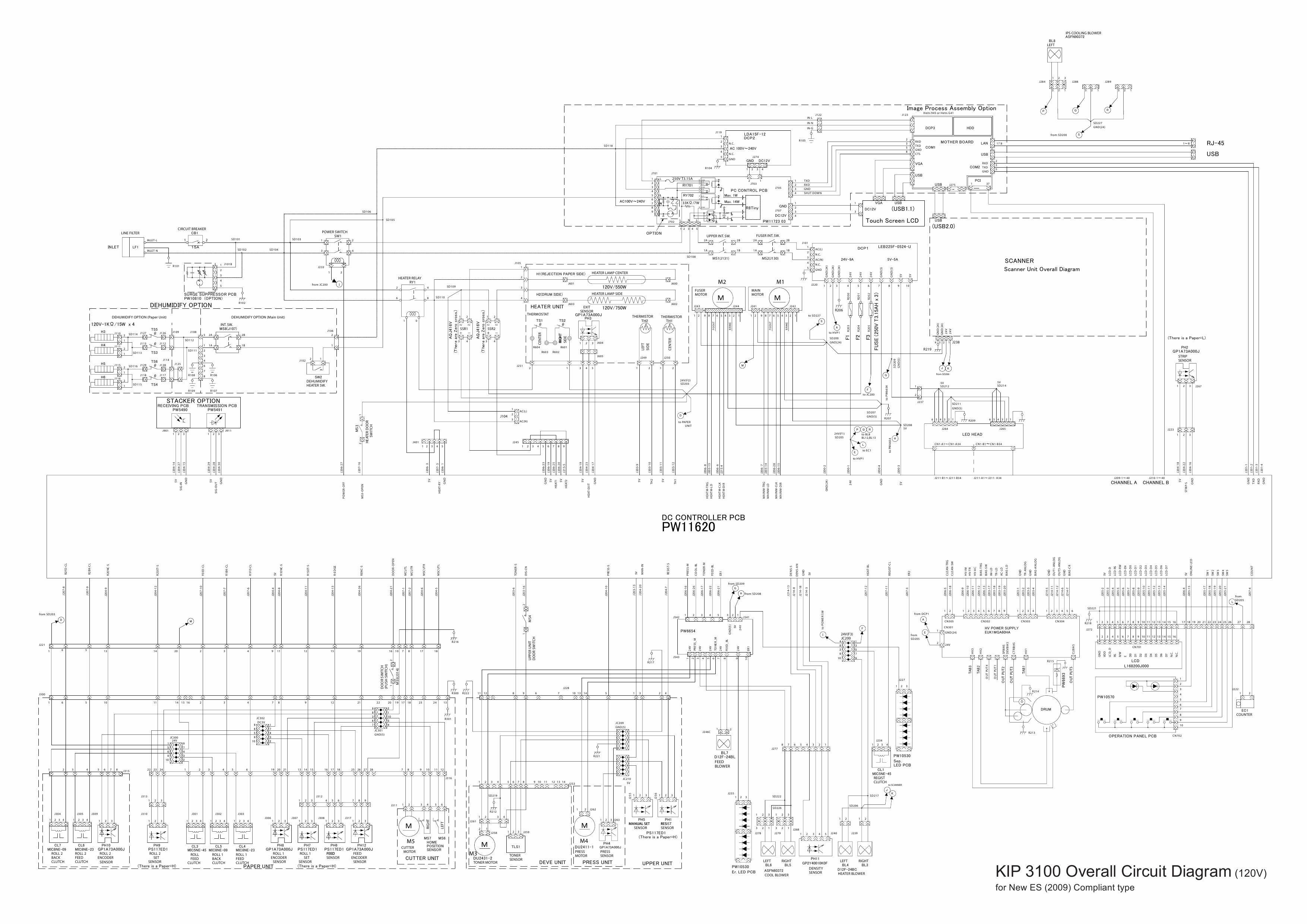 kip 3100 circuit diagram
