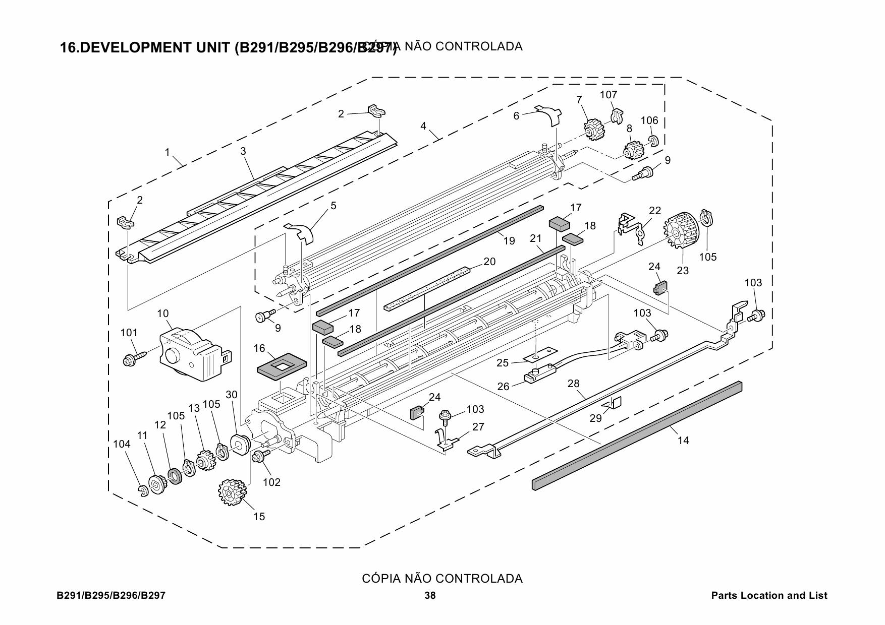 2007 chrysler pacifica parts list