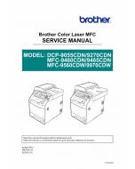 Brother Laser-MFC 9460 9465 9560 9970 CDN DCP9055 9270 CDN Service Manual