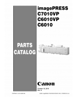 CANON imagePRESS C6010 C6010VP C7010VP Parts Manual PDF download