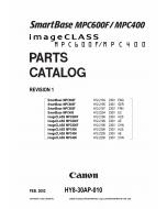 Canon SmartBase MPC400 600F Parts Catalog Manual