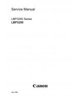 Canon imageCLASS LBP-3250 Service Manual