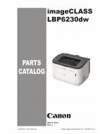 Canon imageCLASS LBP-6200 6230 6240 Parts Catalog Manual