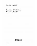 Canon imageCLASS MF-5630 MF5600 Service Manual