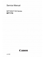 Canon imageCLASS MF-7170i Service Manual