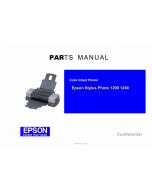 EPSON StylusPhoto 1290 1280 Parts Manual