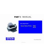 EPSON StylusPhoto R300 R310 Parts Manual
