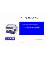 EPSON StylusPro 10600 Parts Manual