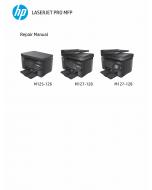 HP LaserJet Pro-MFP M125 M126 M127 M128 Parts and Repair Guide PDF download