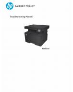HP LaserJet Pro-MFP M435nw Troubleshooting Manual PDF download