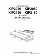 KIP 2050 2080 2120 2160 Image-Scanner K-75 Service Manual