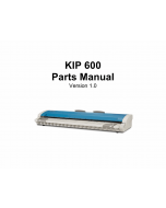 KIP 600 Parts Manual