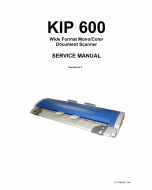 KIP 600 Service Manual