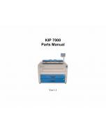 KIP 7000 Parts Manual