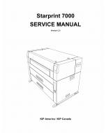 KIP 7000 Parts and Service Manual