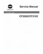 Konica-Minolta MINOLTA CF2002 CF3102 Service Manual