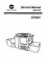 Konica-Minolta MINOLTA CF5001 GENERAL Service Manual