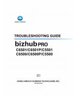 Konica-Minolta bizhub-PRO C6501 C6501P C5501 C6500 C6500P C5500 Troubleshooting Service Manual