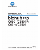 Konica-Minolta bizhub-PRO C6501 C6501P C65hc C5501 THEORY-OPERATION Service Manual