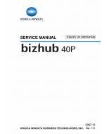 Konica-Minolta bizhub 40P THEORY-OPERATION Service Manual